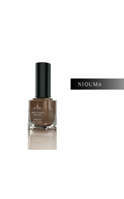 Water Permeable Nail Polish (Wudhu Friendly) 13ml  Brown (Niouma) EL NABIL
