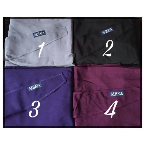 Two Piece Jilbab Purple Plum