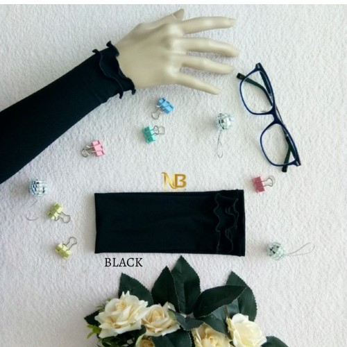 Hand sleeves/Socks /Arm cover BLACK (Long)