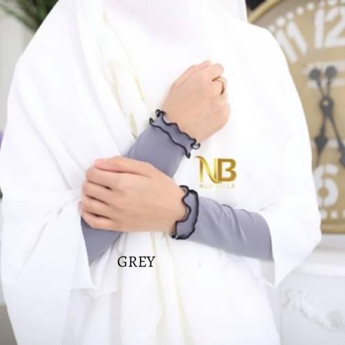 Hand sleeves/Socks grey (Long)